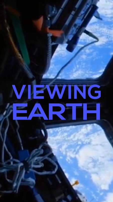 viewing earth-poster
